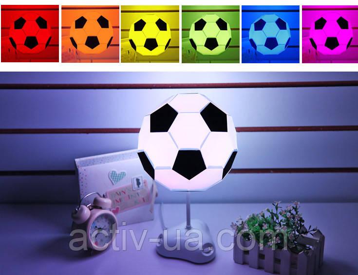 Настольный светильник-конструктор в виде футбольного мяча SD357