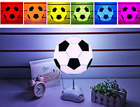 Настольный светильник-конструктор в виде футбольного мяча SD357, фото 1