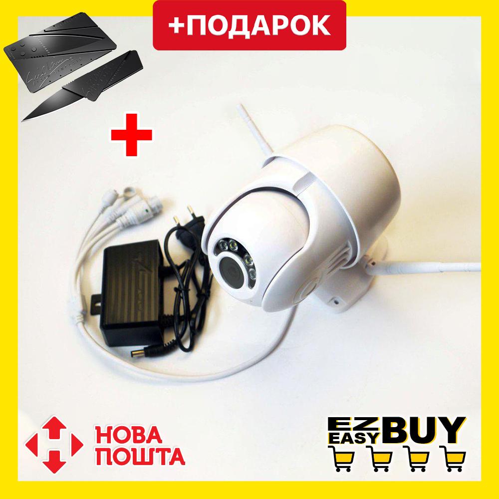 Беспроводная поворотная WIFI и RJ45 IP камера видеонаблюдения EC76-U15 с ИК подсветкой и датчиком движения