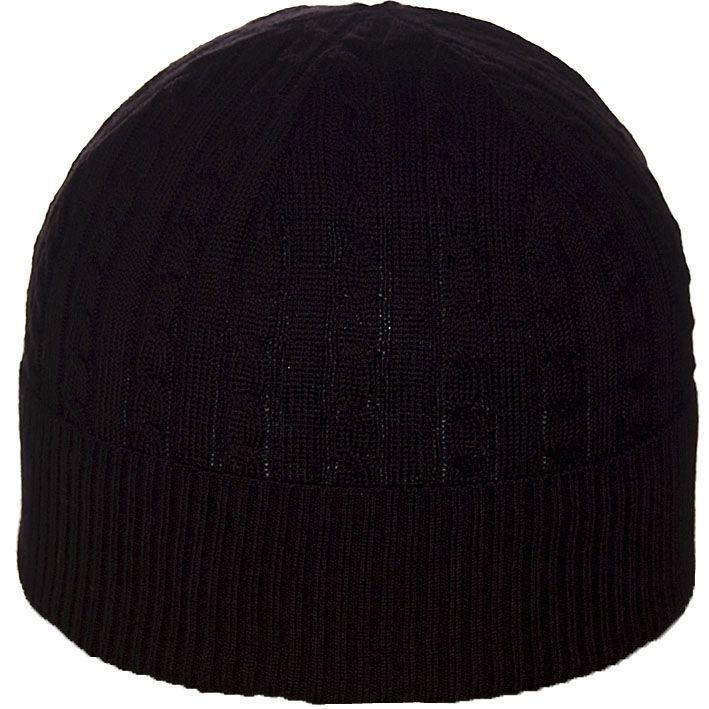 Шапка 01051 черный