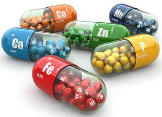 Вітаміни, мінерали, амінокислоти, жирні кислоти