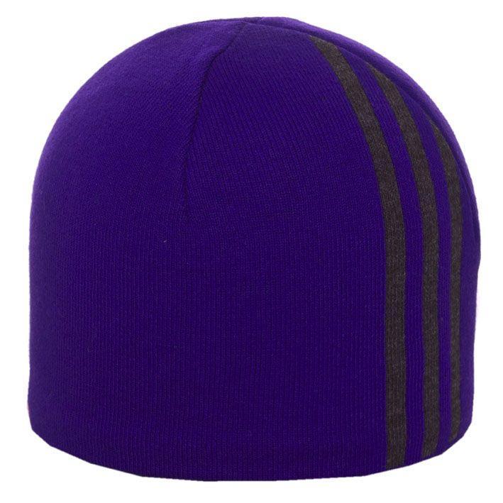 Шапка 1202 фиолетовый-тсерый