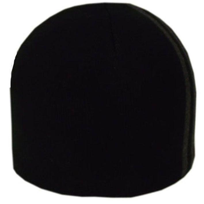 Шапка 1202 черный- тсерый