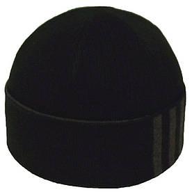 Шапка 1203 чорний-т. сірий