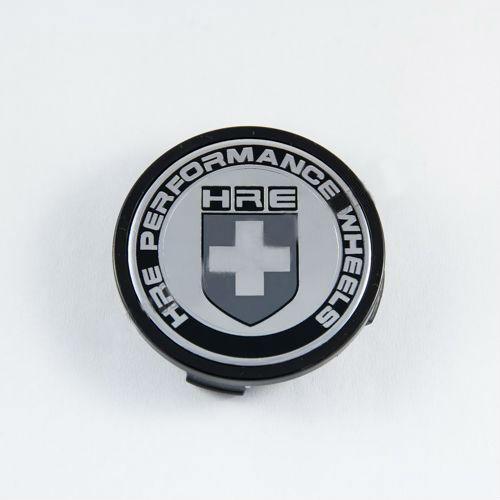 Ковпачок для диска HRE чорний (69 мм)
