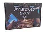 Аккумуляторный портативный ручной массажер для тела Fascial Gun MP-320 Red, фото 8