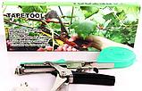 Тапенер для подвязки растений, подвязочный степлер для растений Tapetool, фото 7