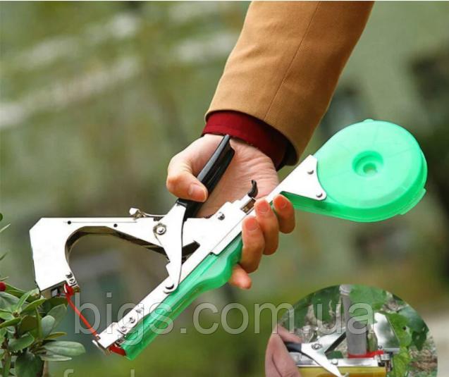 Тапенер для подвязки растений, подвязочный степлер для растений Tapetool