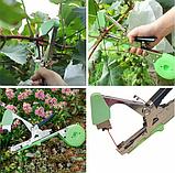 Тапенер для подвязки растений, подвязочный степлер для растений Tapetool, фото 2
