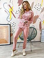 Жіночий спортивний оксамитовий костюм 4 забарвлення норма і батал новинка 2020, фото 1
