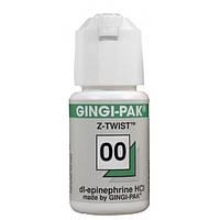 Нить ретракционная Z-Twist Max (Gingi-Pak),№00,1 Зелена 274см.