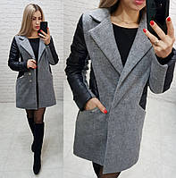 Пальто жіноче утеплене 43778, фото 1