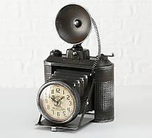 Настольные часы Фотоапарат металл h33см (1xAA 1.5V) Гранд Презент 1018101