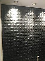 Гіпсові панелі, декоративні панелі, 3д/3d, облицювальні панелі, серія Моѕаіс 60х60см