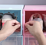 Пластиковый контейнер для хранения обуви 31*21*12см, фото 2