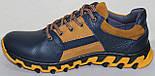 Кроссовки мужские кожаные от производителя модель ИВ21-Р04, фото 4