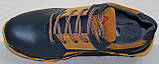 Кроссовки мужские кожаные от производителя модель ИВ21-Р04, фото 5
