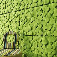 Гіпсові панелі, декоративні панелі, 3д/3d, облицювальні панелі, серія Leaves