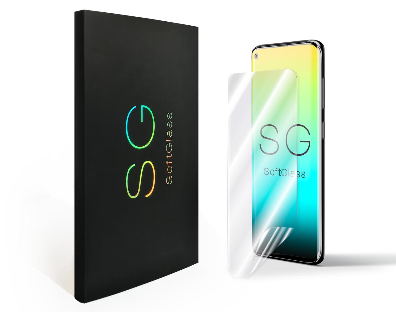 Мягкое стекло для Samsung A01 2020 A015F SoftGlass