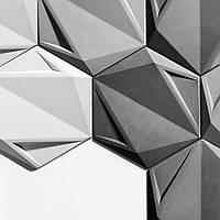 Гіпсові панелі, декоративні панелі, 3д/3d, облицювальні панелі, серія Hexa Sota