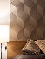 Гіпсові панелі, декоративні панелі, 3д/3d, облицювальні панелі, серія Hexagon