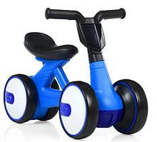 Беговел для детей 2-в-1 PROFI KIDS M 4086-4 Синий