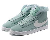Кроссовки женские зимние Nike Blazer / NR-WNTR-131