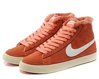 Кроссовки женские зимние Nike Blazer / NR-WNTR-132