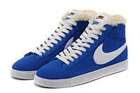 Кроссовки женские зимние Nike Blazer / NR-WNTR-133