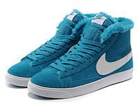 Кроссовки женские зимние Nike Blazer / NR-WNTR-135