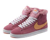 Кроссовки женские зимние Nike Blazer / NR-WNTR-136
