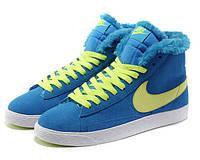 Кроссовки женские зимние Nike Blazer / NR-WNTR-139