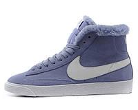Кроссовки женские зимние Nike Blazer / NR-WNTR-140