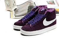 Кроссовки женские зимние Nike Blazer / NR-WNTR-144