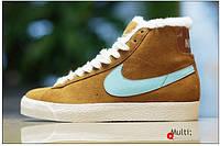 Кроссовки женские зимние Nike Blazer / NR-WNTR-145