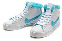 Кроссовки женские зимние Nike Blazer / NR-WNTR-194