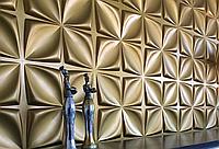 Гіпсові панелі, декоративні панелі, 3д/3d, облицювальні панелі, серія Flowers
