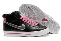 Кроссовки женские зимние Nike Blazer / NR-WNTR-196