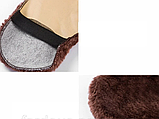 Щетка для обуви шерстяная, чистка и полировка 10х16 см, фото 6