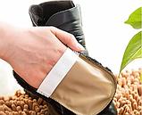 Щетка для обуви шерстяная, чистка и полировка 10х16 см, фото 5
