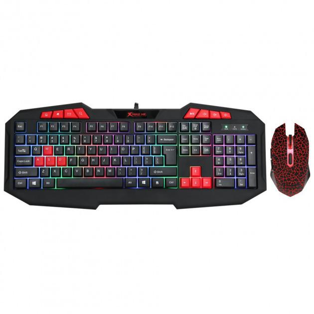 Комплект игровой проводная клавиатура+мышь XTRIKE ME MK-503