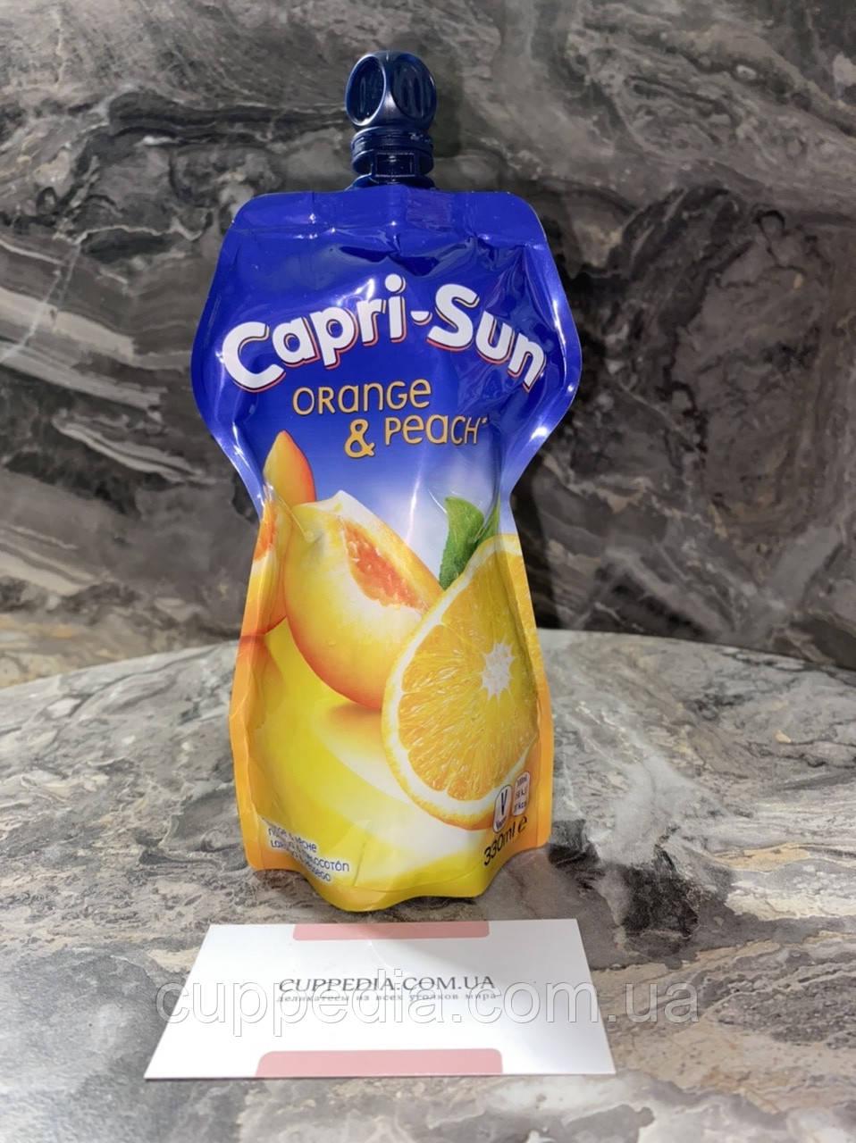 Сік Capri - Sun Multi Orance & Peach апельсин з персиком 330 мл