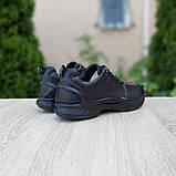 Ecc0 Biom  мужские демисезонные черные кроссовки на шнурках, фото 2