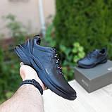 Ecc0 Biom  мужские демисезонные черные кроссовки на шнурках, фото 6