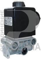 Клапан електромагнітний КЕМ 16 24В (БАТЬКІВЩИНА) (Арт. КЭМ16-01)