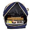 Школьный Рюкзак 3 в 1 Подростковый с сумкой и пеналом в комплекте с принтом ночного неба, фото 8