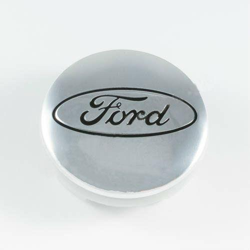 Колпачок в легкосплавные диски Ford хром 6M211003AA (54 мм)