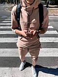 Мужской спортивный костюм с капюшоном СММ  ос4-ос8, фото 3
