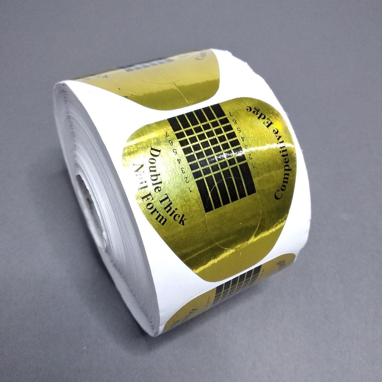 Формы для наращивания ногтей 50 шт Global Fashion