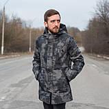 Чоловіча демісезонна куртка New York, кольору хакі, фото 3